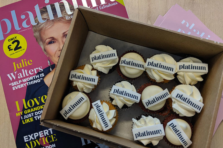 """Celebrating women over 55"" Alex Grayshon, Senior Account Manager, gives her view on the launch of Platinum Magazine"
